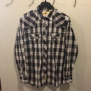 Larry Mahan Mens Cowboy Collection Western Shirt